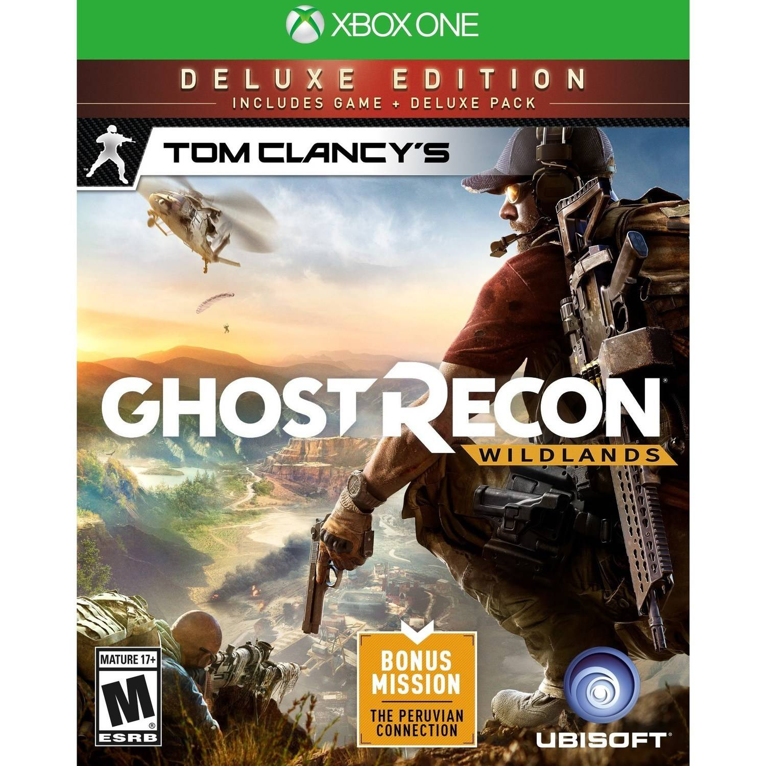 Tom Clancy's Ghost Recon: Wildlands Deluxe Edition, Ubisoft, Xbox One, 887256022747