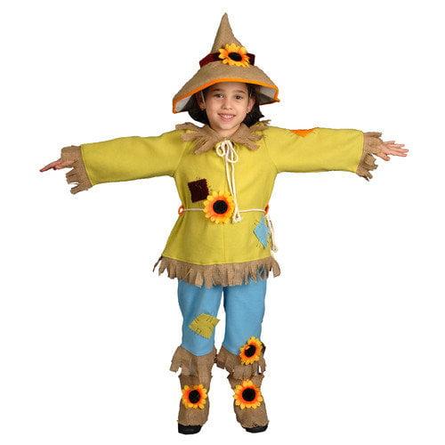 Dress Up America Scarecrow Children's Costume