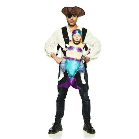 Pirate & Mermaid Baby Carrier Costume