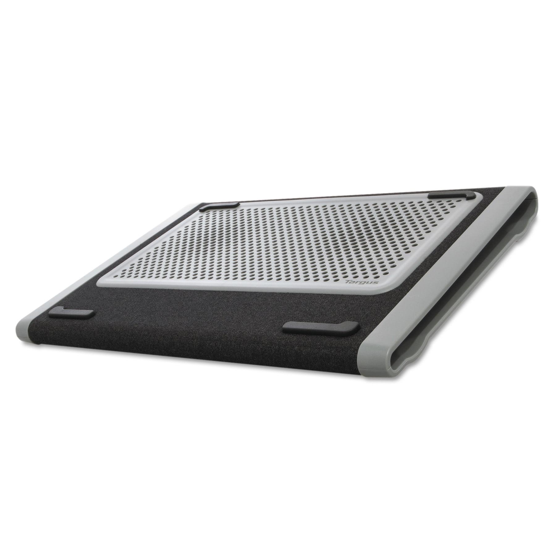 Targus Dual Fan Chill Mat, 9 1 4 x 13 1 4 x 1, Gray Black by Targus
