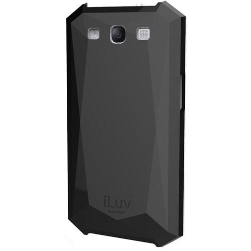 iLuv Mazarin Diamond Cut Hardshell Case for Samsung Galaxy S III, Black