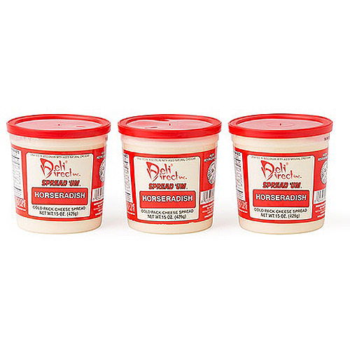 Deli Direct Spread 'Um Horseradish Cheese Spread, 45 oz