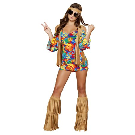 Hippie Hottie Costume - Dog Hippie Costume