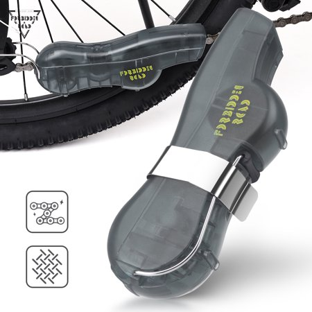 Forbidden Road Bike Chain Cleaner Bicycle Chain Cleaning Tool Mini Chain Washing Machine for Mountain Bike Road Bicycle Portable Small Cycle Chain Cleaner (Gray) Forbidden Road Bike Chain Cleaner Bicycle Chain Cleaning Tool Mini Chain Washing Machine for Mountain Bike Road Bicycle Portable Small Cycle Chain Cleaner.