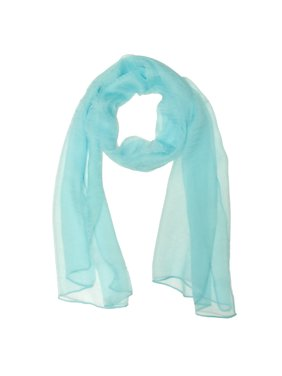 Solid Color 100% Silk Long Scarf, Majestic Purple