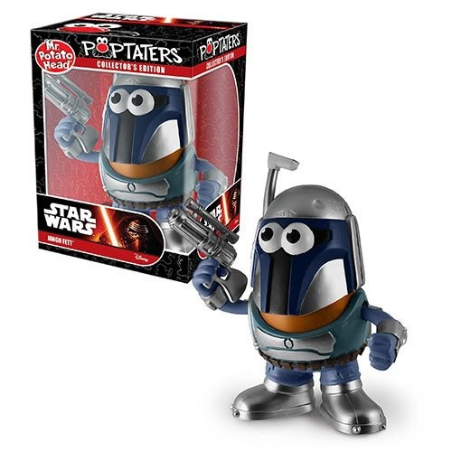 Star Wars Jango Fett Poptaters Mr. Potato Head (Number of Pieces per case: 6) by