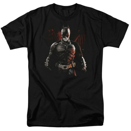 Dark Knight Rises/Batman Battleground S/S Adult 18/1   Black     Bm2086