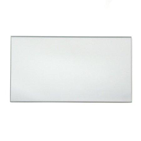 Rectangular Mirror Glass Base Centerpiece, - Centerpiece Base