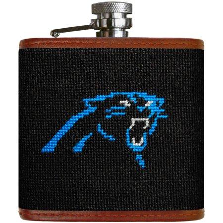 Carolina Panthers Needlepoint Flask - No Size