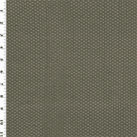 Gray Woven Faux Leather Upholstery Fabric, Fabric By the Yard