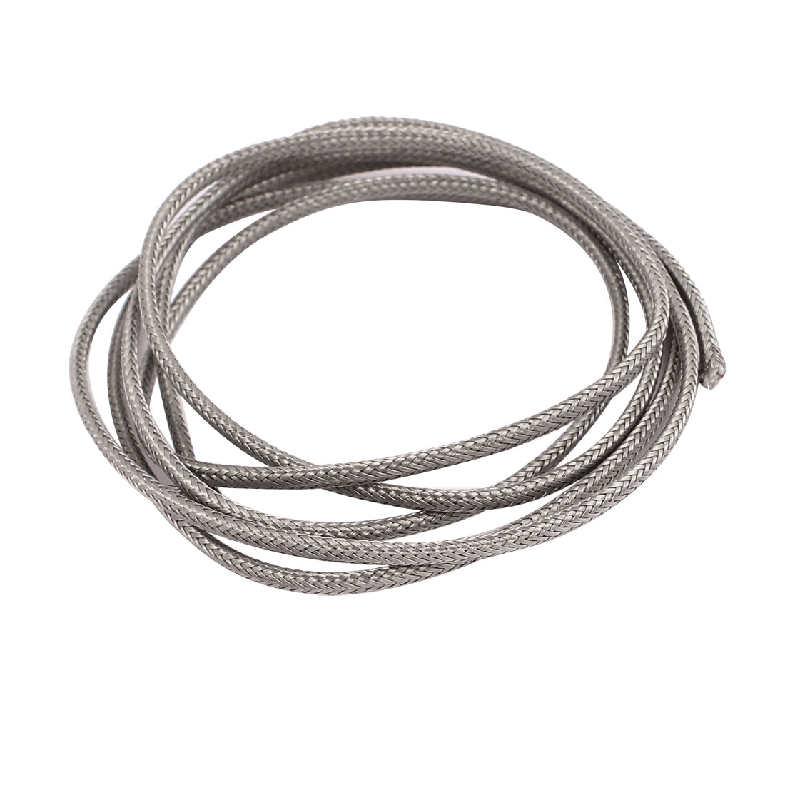 1.1 Meter 0.4mm Width Silver Tone Metal K Type Thermocouple Extension Wire - image 2 of 2