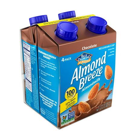 Almond Breeze Almond Milk, Chocolate 8 fl oz, 4