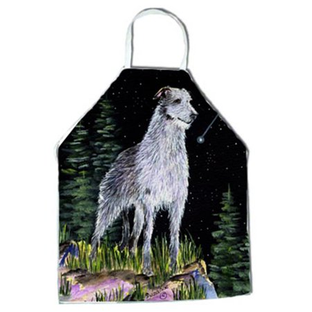 Starry Night Scottish Deerhound Apron - 27 x 31 in. - image 1 of 1