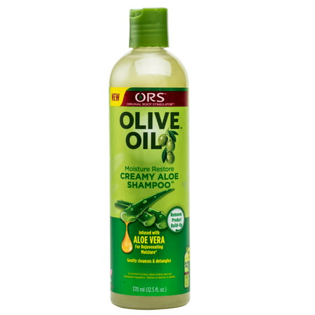ORS Olive Oil Moisture Restore Creamy Aloe Shampoo 12.5 (Best Oil And Shampoo To Control Hair Fall)