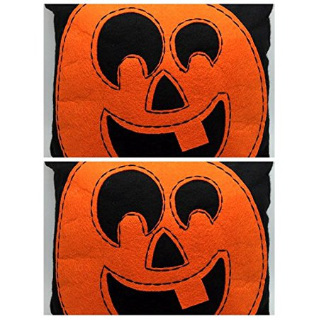 Halloween pumpkin Mini Pillow (2)