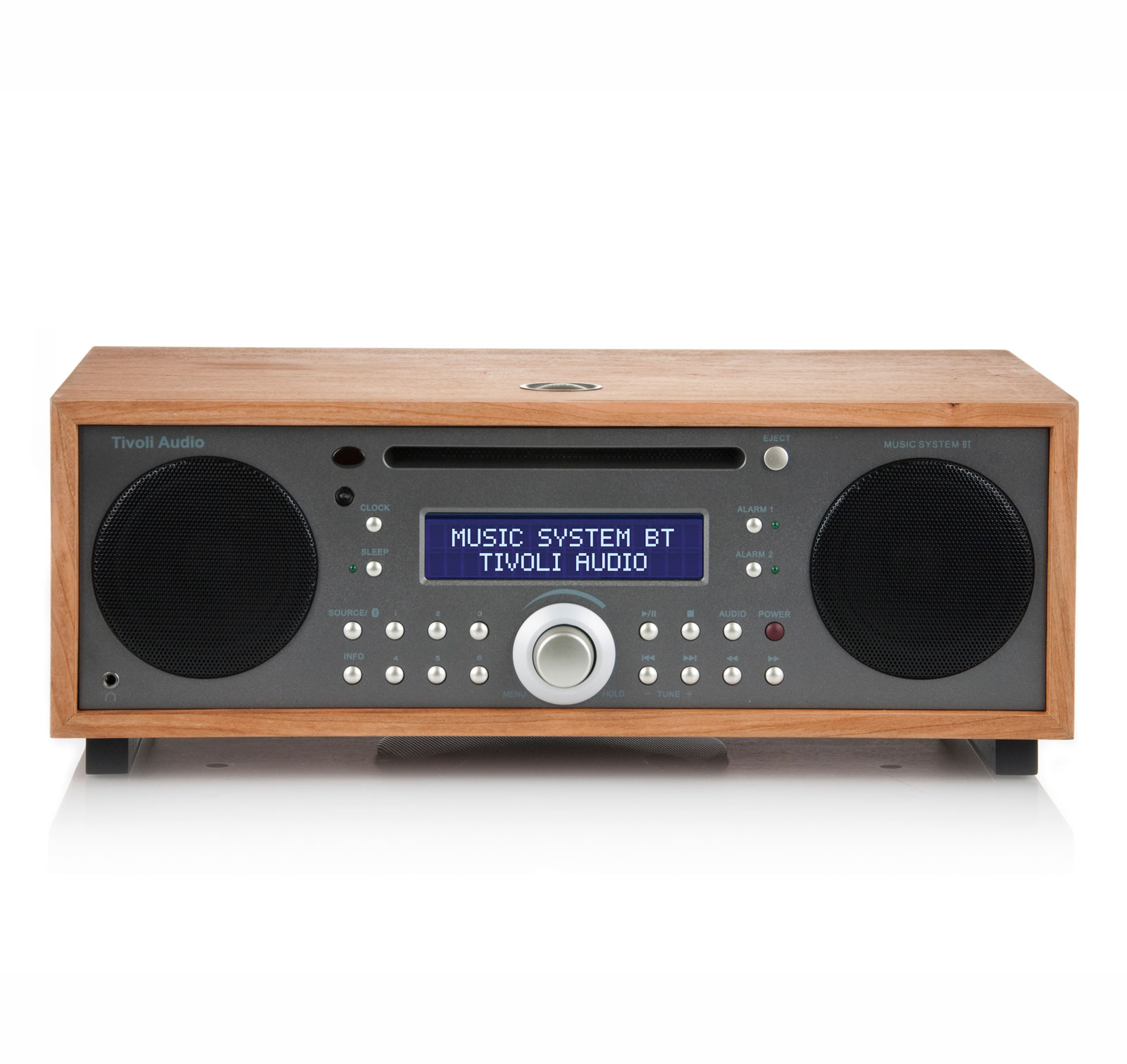Tivoli Audio Music System BT Cherry Taupe All-In-One Wireless Bluetooth System by Tivoli