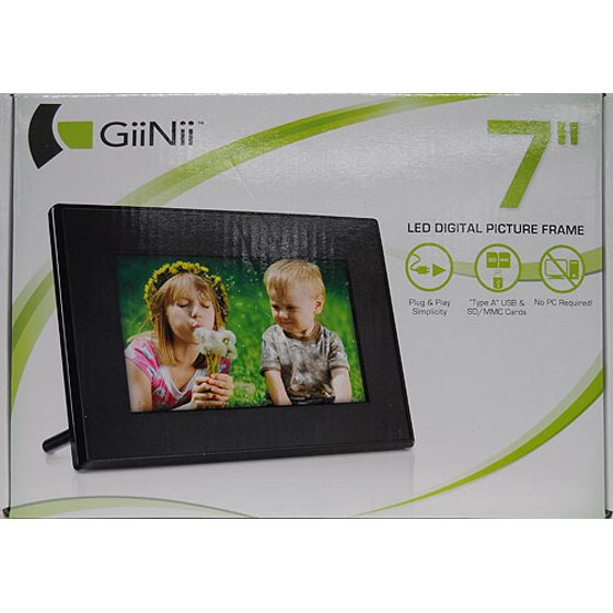 Giinii 7 Digital Picture Frame Review Picture Frame Ideas