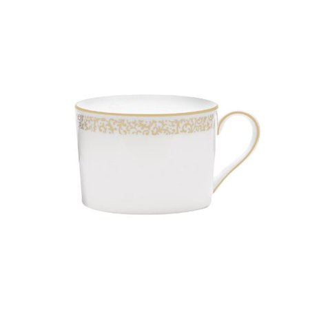 Vera Filigre Gold Vera Wang Fine Bone China Teacup Only Imperial, Dimensions: 3.25 x 4.5 2.25 By VERA WANG - Vera Wang Bone China Platter