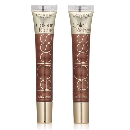 L'Oreal Colour Riche LeGloss Lip Gloss #165 Chocolate Obsession (Pack of (L Oreal Colour Riche Le Gloss Raspberry Splash)