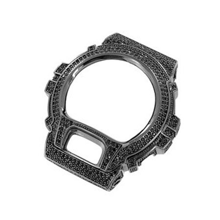 G Shock DW6900 Iced 14k Black Gold Finish Replacement Bezel Sale New Bling