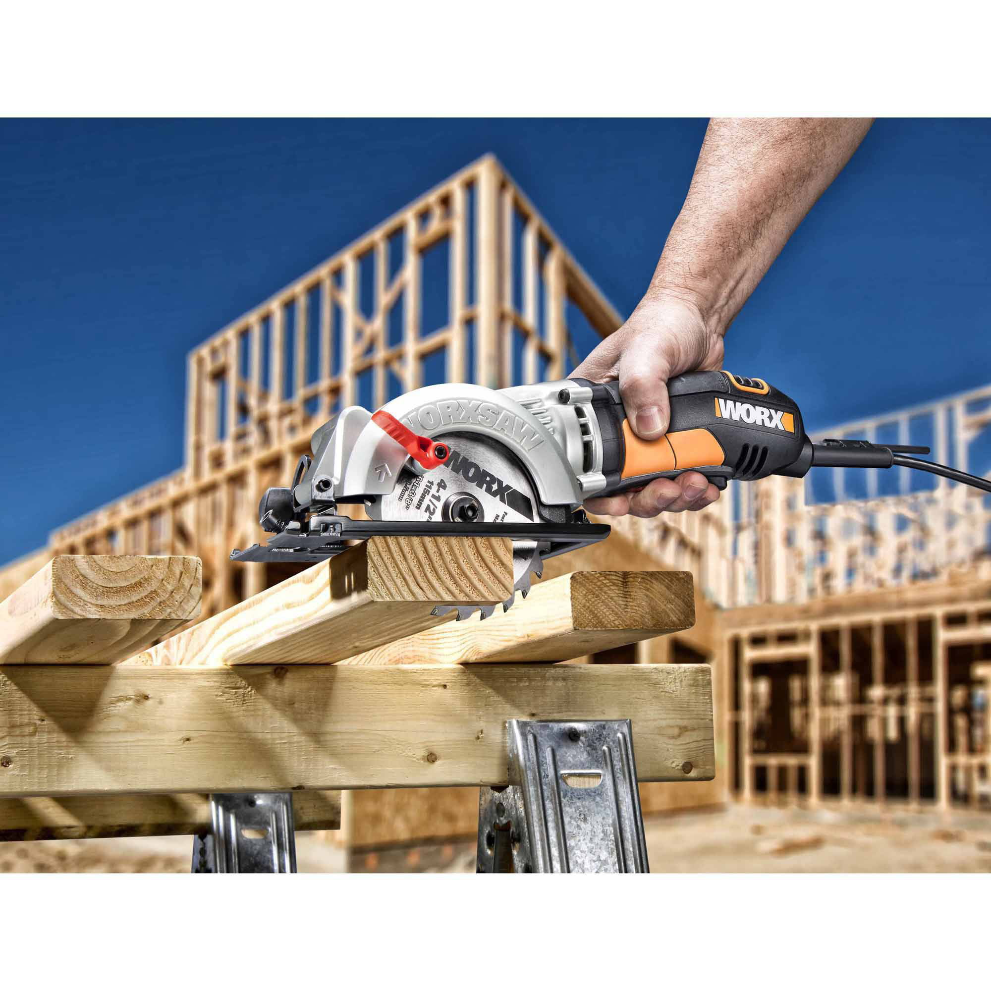 Worx worxsaw 4 12 compact circular saw wx429l walmart greentooth Image collections