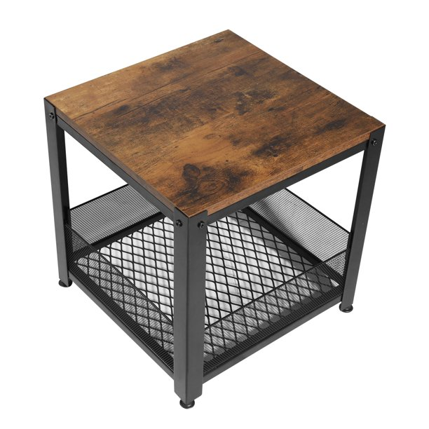 Storage Mesh Shelf Metal Frame, How To Decorate A Small Square Coffee Table