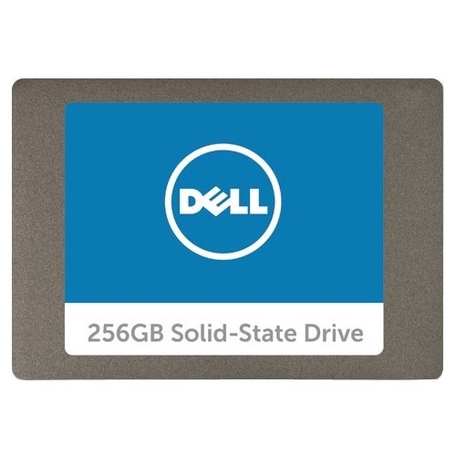 "Dell 256 GB Solid State Drive - SATA (SATA/600) - 2.5"" Drive - Internal - 1 Pack"