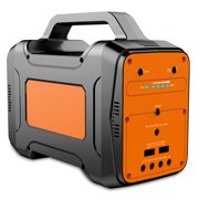 130wh Portable Power Supply Solar Generator Emergency Power Station 12000mAh Rechargeable Lithium Battery Outdoors Travel Camping Home