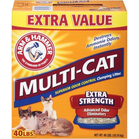 Arm Hammer Multi Cat Clumping Litter  Lb Wal Mart