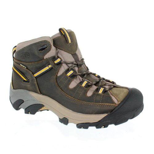 Keen Men's Targhee II Mid Waterproof Hiking Boots (Black ...