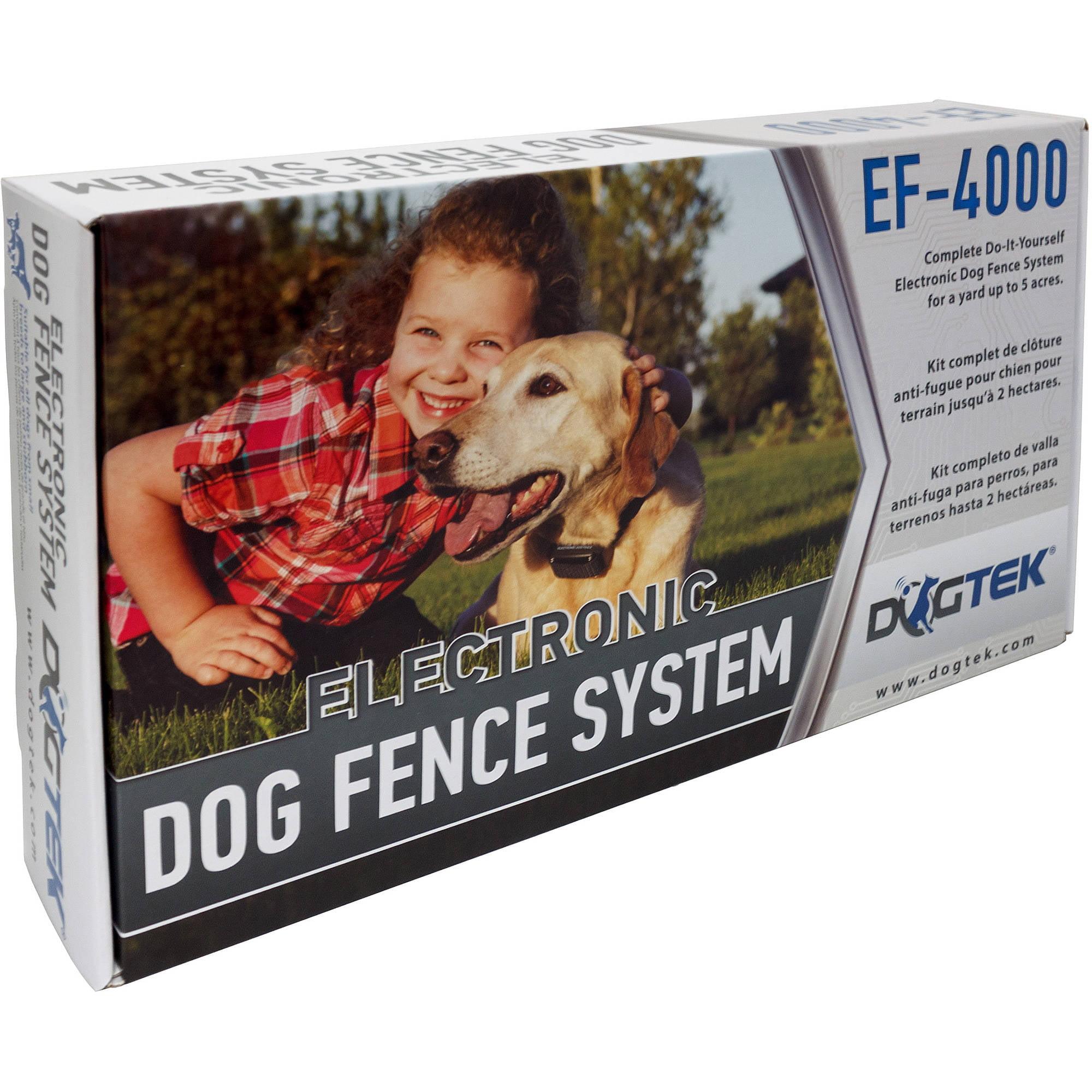 Electric dog fences dogtek ef 4000 electronic dog fence system solutioingenieria Images