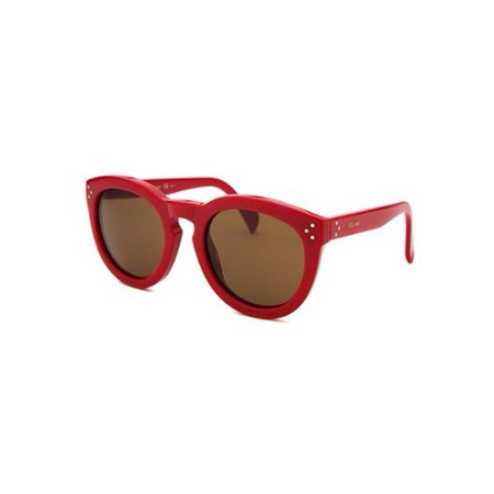 Cl41801-J7ohk-52 Women's Round Red (Celine Red Sunglasses)