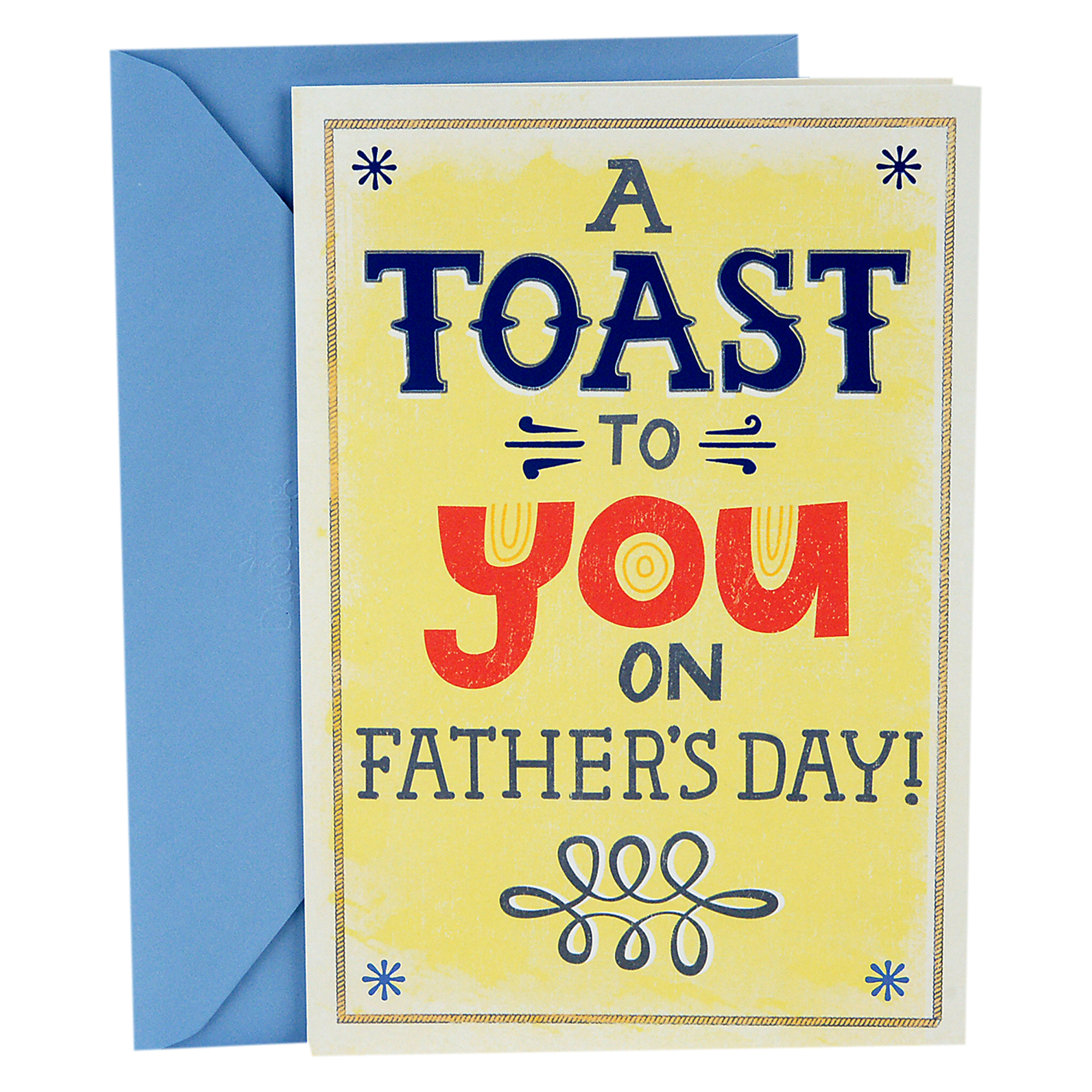 Hallmark, Toast and Bacon Joke, Funny Father's Day Greeting Card