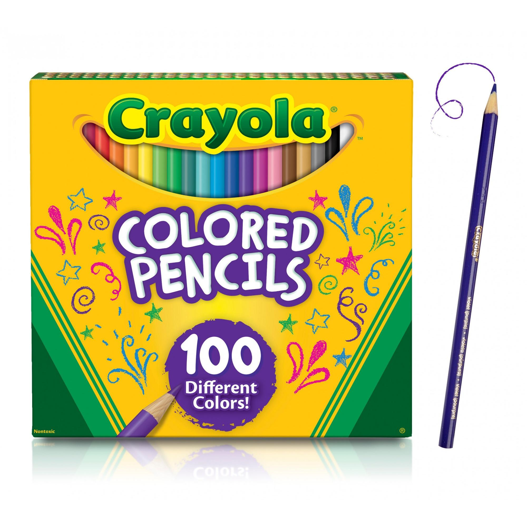 Crayola Colored Pencils Bulk Colored Pencils Great For Coloring