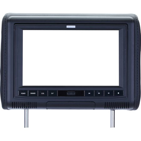 SAVV LM-98D 9″ HR Monitor with DVD, Black/Beige/Gray