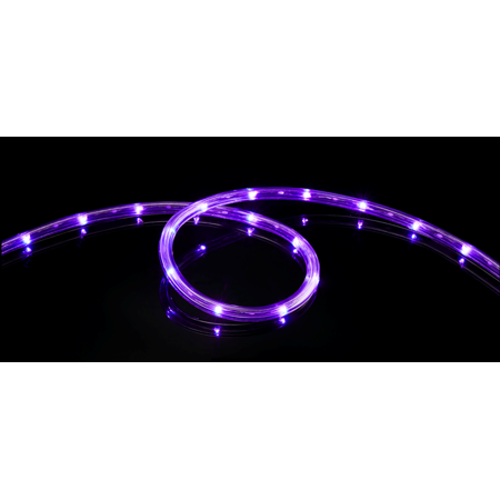 Meilo 16 Ft Led Rope Light Purple Connectable Waterproof