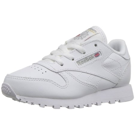 662c4fa96c3 Reebok - Reebok 92756  Infant Toddler Classic Leather Sneaker White Light  Grey (8 M US Toddler) - Walmart.com
