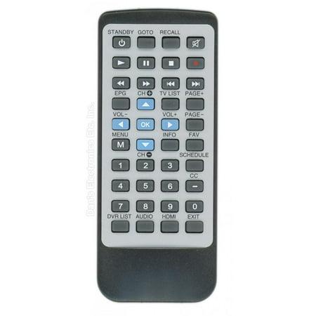 Anderic Generics RRDTA880 (p/n: DTA880) Digital TV Tuner Converter Box Remote Control