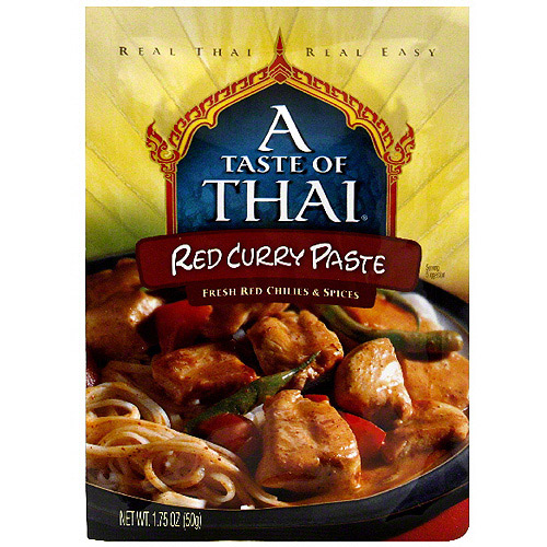 A Taste Of Thai Red Curry Paste, 1.75 oz (Pack of 6)