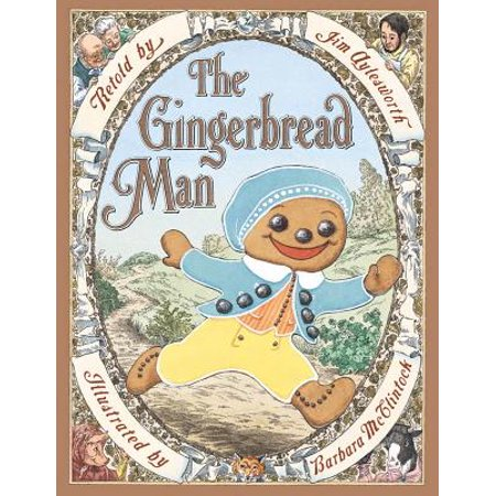 The Gingerbread Man (Hardcover) - Gingerbread Man From Shrek