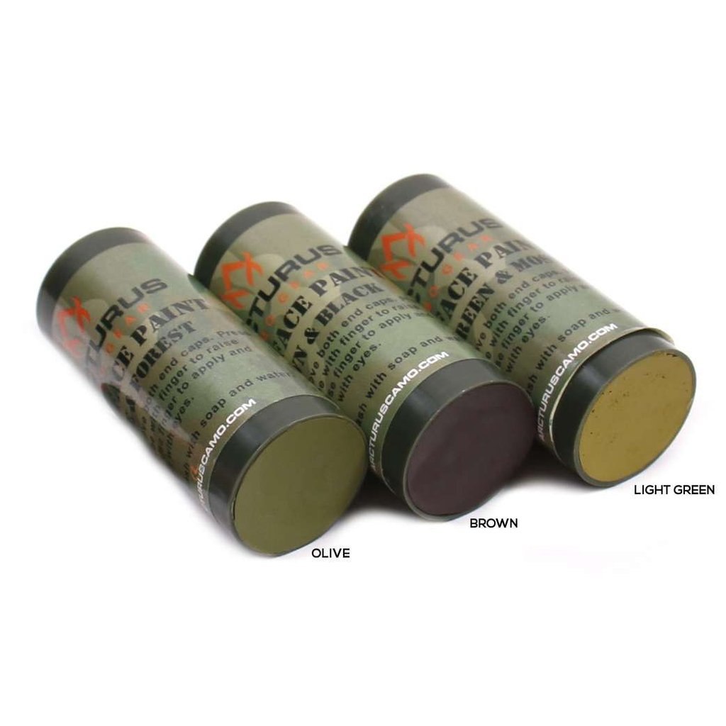 Arcturus Camo Face Paint Sticks 6 Camouflage Colors In 3