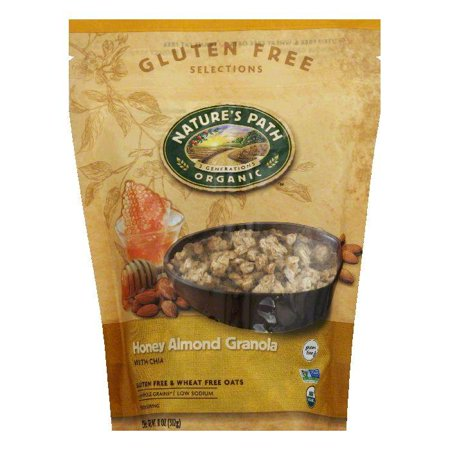 Natures Path Honey Almond with Chia Granola, 11 Oz (Pack of 8)