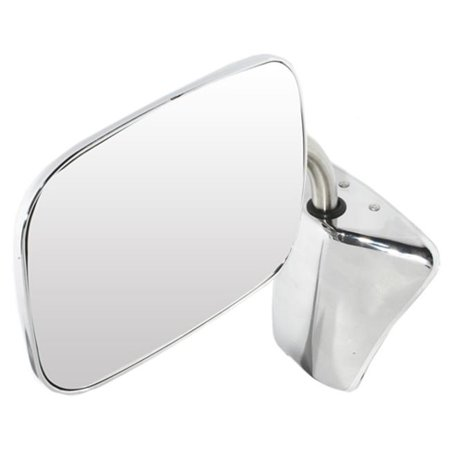 pilot automotive mi-023 gm & chevy oe style replacement mirror, chrome ()