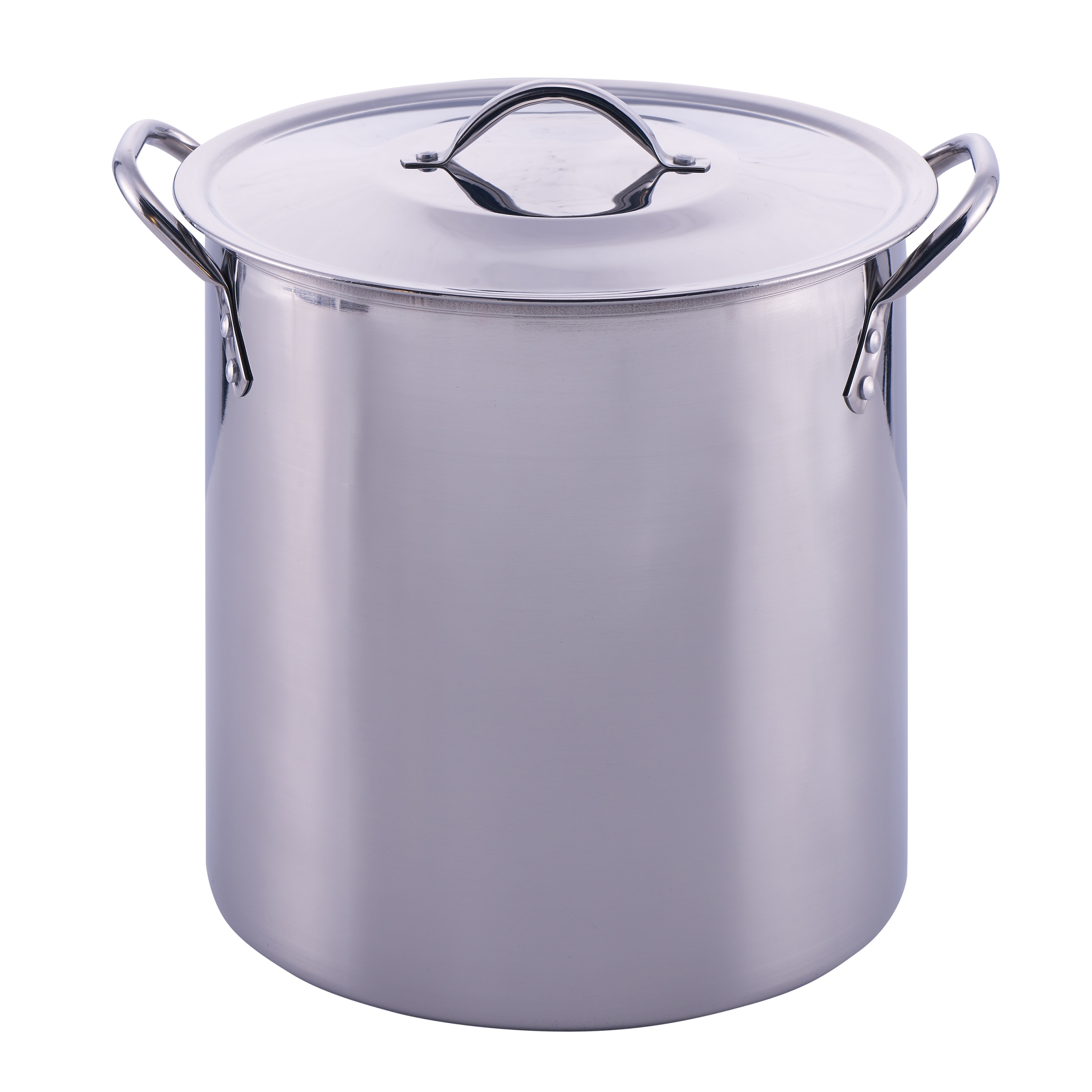 Mainstays 16 Quart Stock Pot with Lid, Stainless Steel