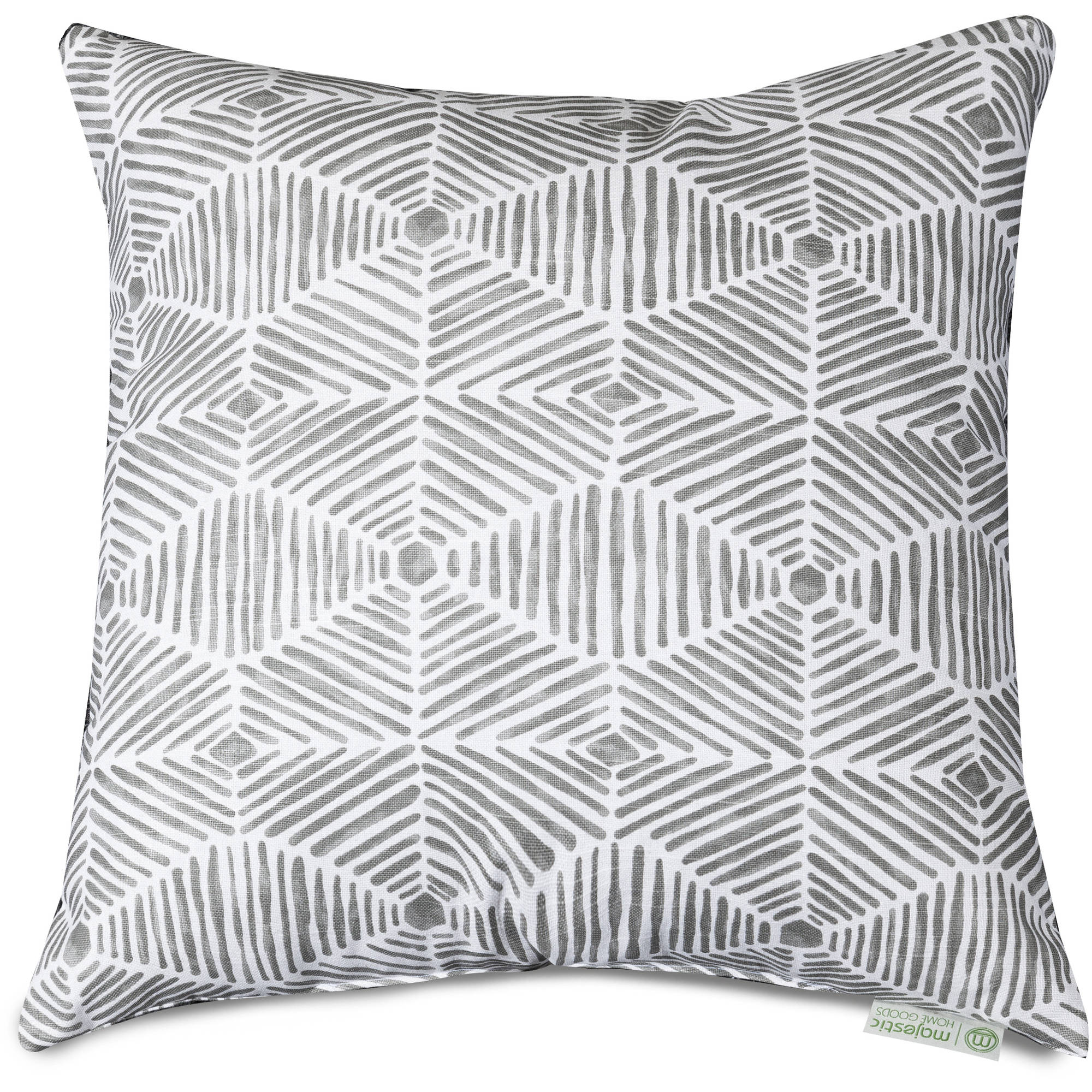 "Majestic Home Goods Charlie Large Decorative Pillow, 20"" x 20"""