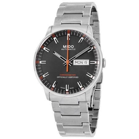Commander II Automatic Grey Dial Mens Watch M021.431.11.061.01
