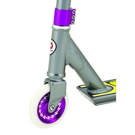 Razor Pro Rider El Dorado Deluxe Kids Outdoor Ride On Push Kick Scooter, Gray - image 4 de 5