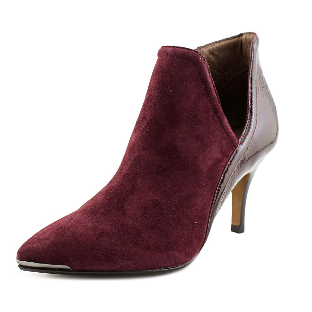 Donald J Pliner Taila Pointed Toe Suede Bootie by Donald J Pliner