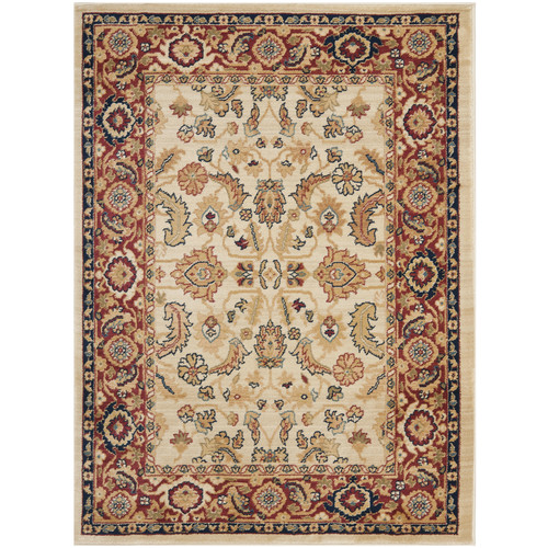 Traditional Rug in Creme (11 ft. L x 8 ft. W)
