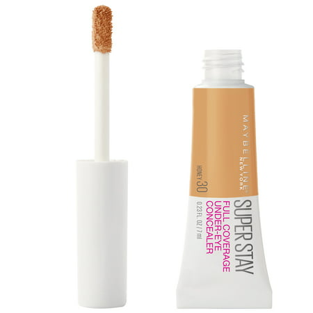 Maybelline Super Stay Full Coverage, Long Lasting Under-Eye Concealer, Honey